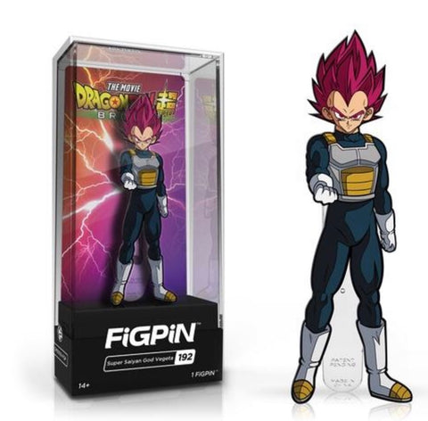 FiGPiN Dragon Ball Super Broly Movie - Super Saiyan God Vegeta