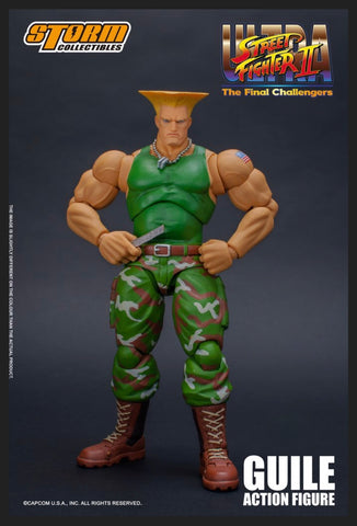Street Figter Guile 1:12 Scale Action Figure [Coming October]
