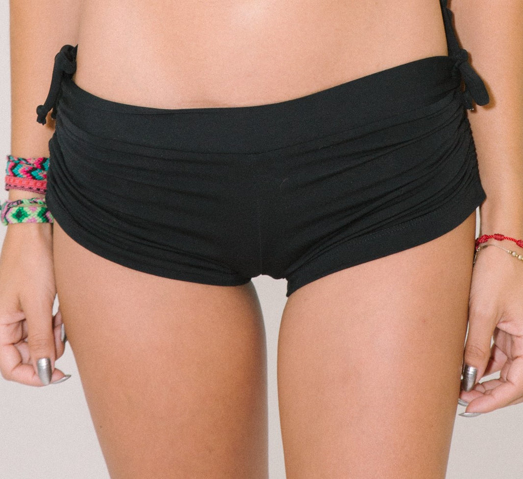 Volcanic Shorts w/ Scrunch & String