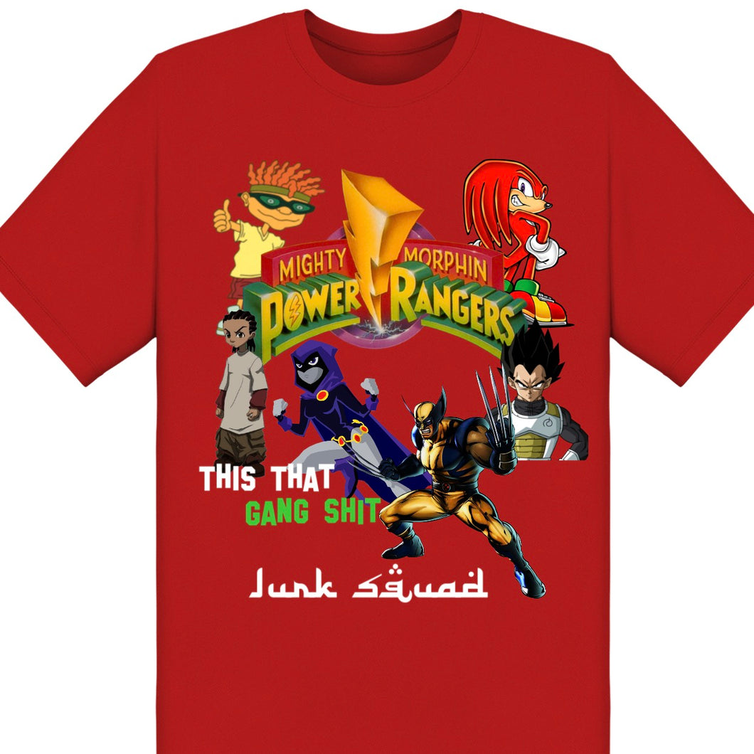 Power Rangers Character Tee