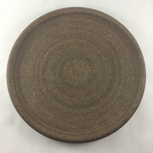 Matte Brown Entree Plate