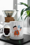 The Flintstones - Fred & Wilma - Matching Couple Mugs Set - Couples Gifts - Couple Gifts