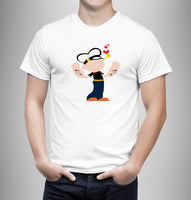 Popeye The Sailor - Matching Set Couple Shirts - Couple Gifts - Couple Gifts