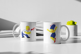 The Simpsons - Homer & Marge - Matching Couple Mugs Set - Couples Gifts - Couple Gifts
