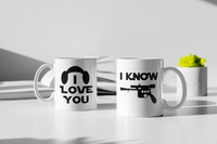 Star Wars - Han Solo & Princess Leia - Matching Couple Mugs Set - Couples Gifts - Couple Gifts