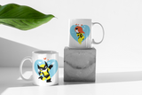 Wolverine & Jean | Marvel Couple Mugs - Couple Gifts