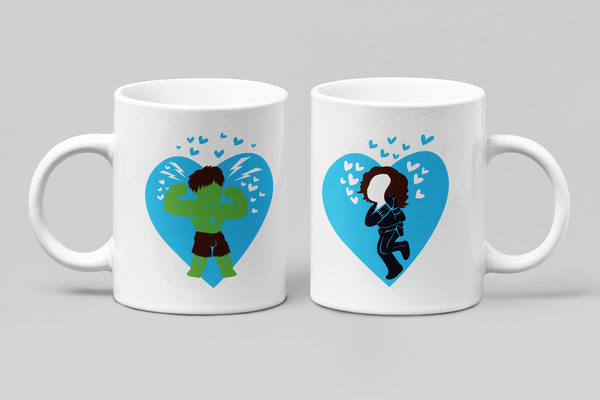 Hulk & Black Widow | Marvel Couple Mugs - Couple Gifts