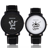QUEEN and KING - Matching Couple Watches - Couple Gift Set - Couple Gifts