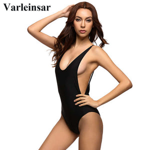 2017 Sexy 1 one piece Backless Swimsuit - Lika Women