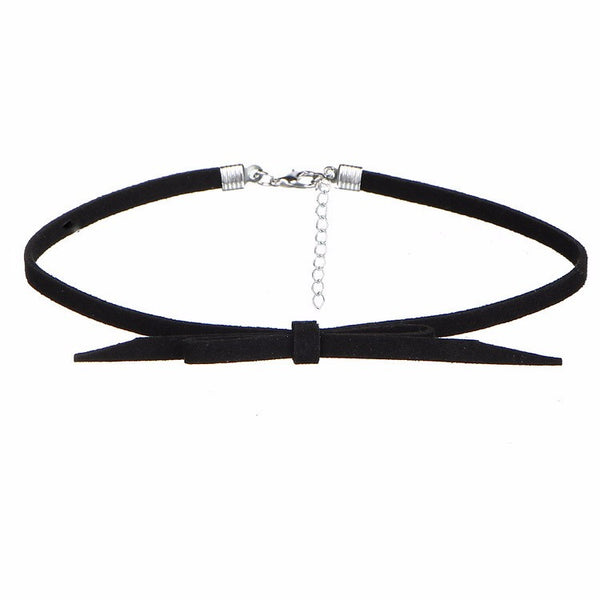 8 PCS/Set PU Leather Choker Necklaces - Lika Women