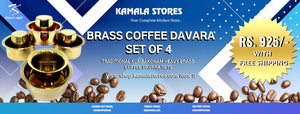 Brass Coffee Davara Offer