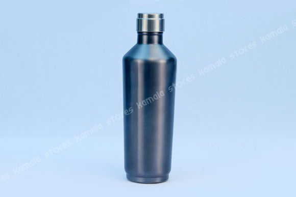 Stainless Steel Vaccum Water Bottle Square Colour 500 ml
