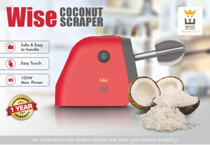 Electric Coconut Scraper Wise Brand