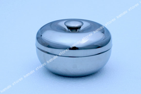 Stainless Steel Apple Dish