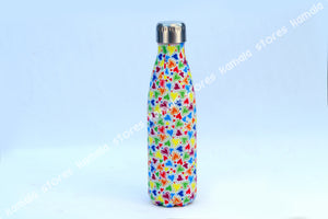 Stainless Steel Vaccum Water Bottle Hearts 500 ml