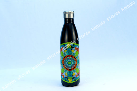 Stainless Steel Vaccum Water Bottle Colour Design 500 ml