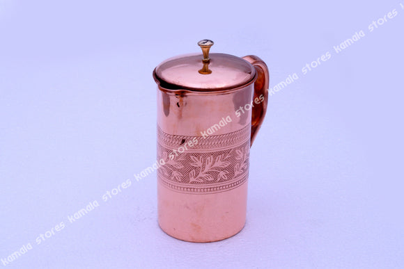 Copper Embossed with Jug
