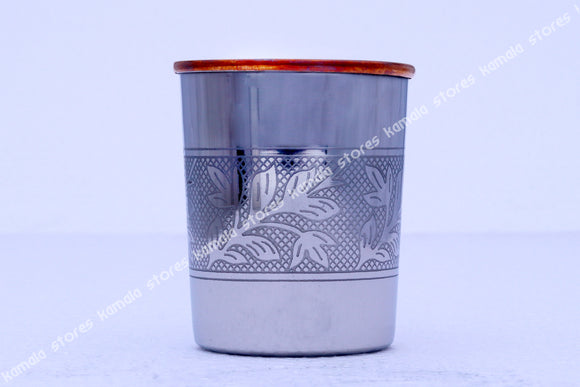 Stainless Steel - Copper Tumbler