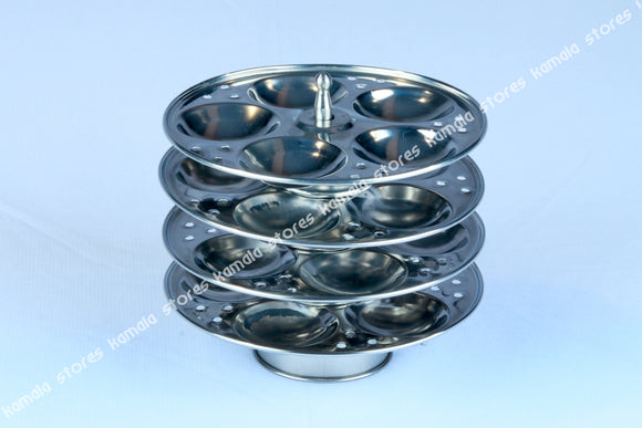 Stainless Steel Small Idly Plates