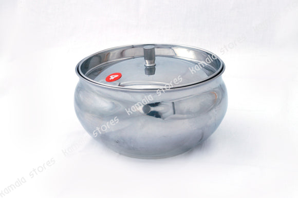 Stainless Steel Pot with Fitted Lid