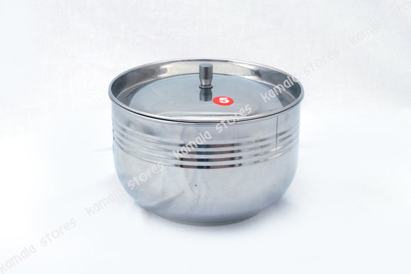 Stainless Steel Container tall with Inner Lid