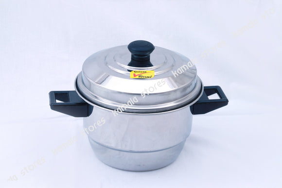 Stainless Steel Mini Idly Pot with Lid, 20 Mini Idly