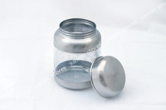 Sizzle Stainless Steel See Through Storage Container