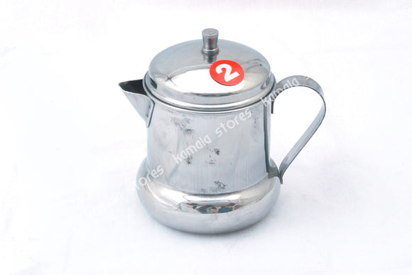 Stainless Steel Oil Container with Handle