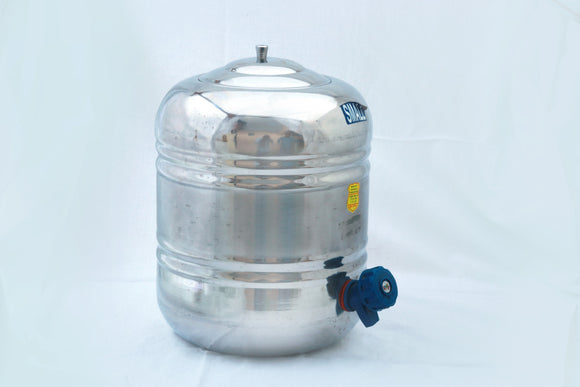 Stainless Steel Water Pot with Lid, Small - 3 ltr
