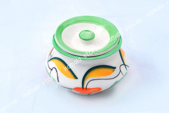 Ceramic Colour Pot