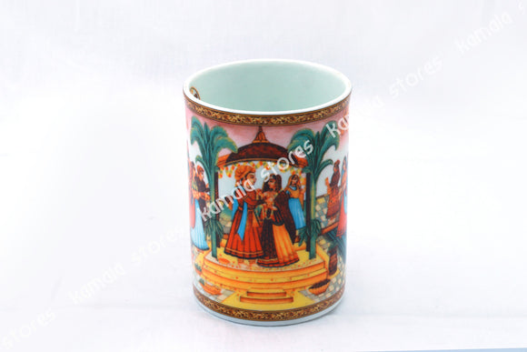 Traditional Design Coffee Mug