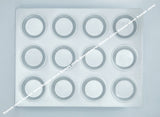 Aluminium Muffin Bakeware Tray / Cup Cake Mould - 12 Slot