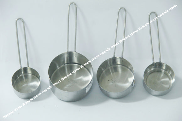 Stainless Steel Measuring 4PC Cup