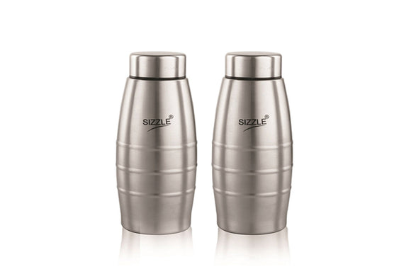 Sizzle Steel Water Bottle - 400ml