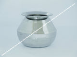 Stainless Steel Deksha With Lid