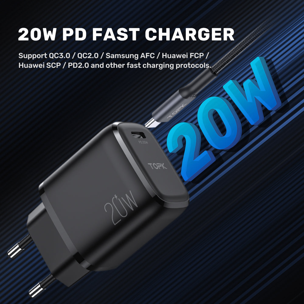 TOPK B110 20W PD USB Charger