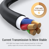 TOPK AC32 LED Micro USB Cable