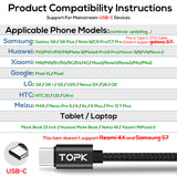 TOPK AC27 LCD Display USB C Cable - TOPK Official Store