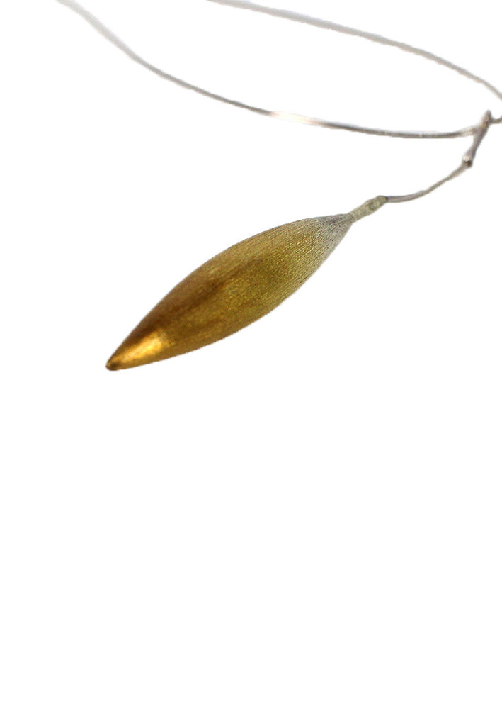 Gold Plated Drop Pendant