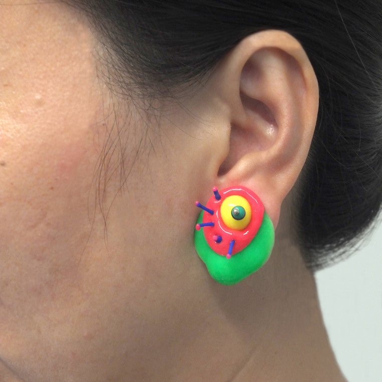 Gu Ming- Stud Earring 8 with Splice