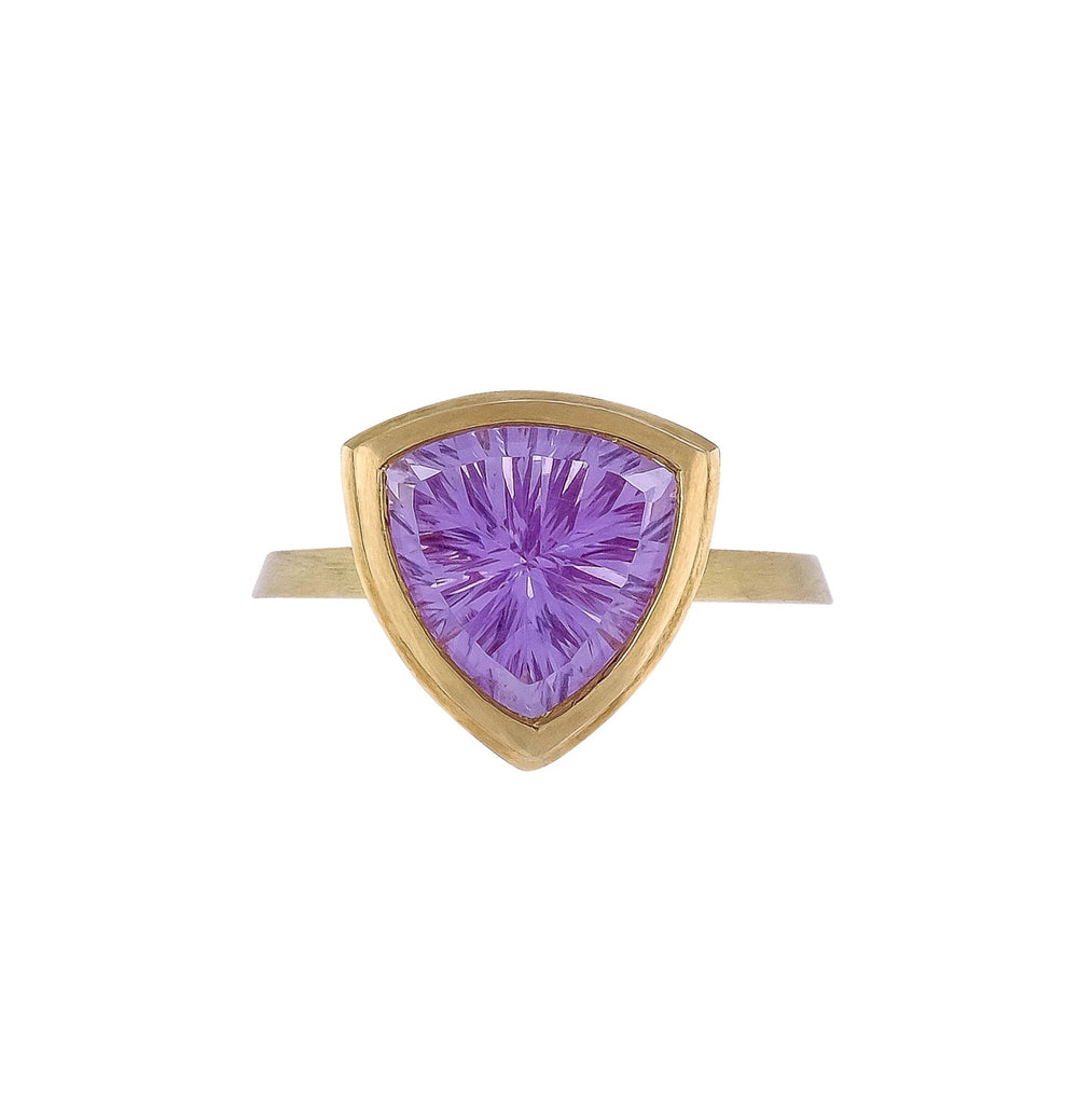Amethyst Ring - Vertex Collection by Rachel Yeung Ame Gallery