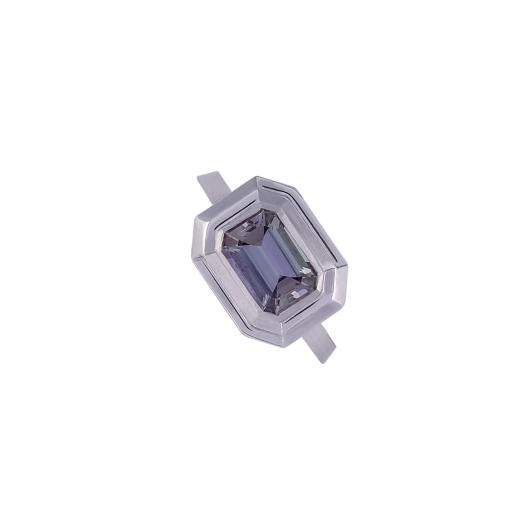 Tanzanite Ring - Vertex Collection by Rachel Yeung Ame Gallery