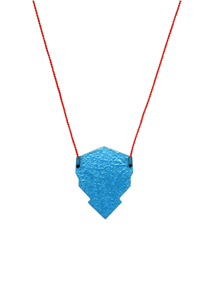 Linnéa Eriksson- Yellow and Blue Spray Paint Pendant