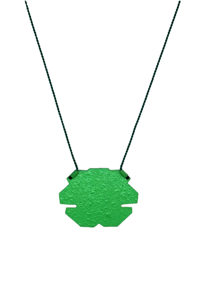 Linnéa Eriksson- Green Spray Paint Pendant