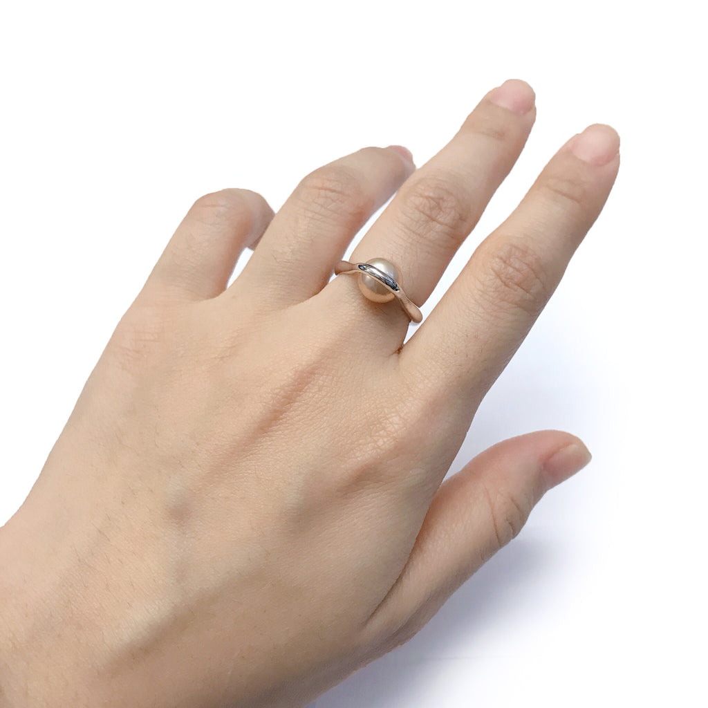 Pixelry - Huku Ring (Peach)