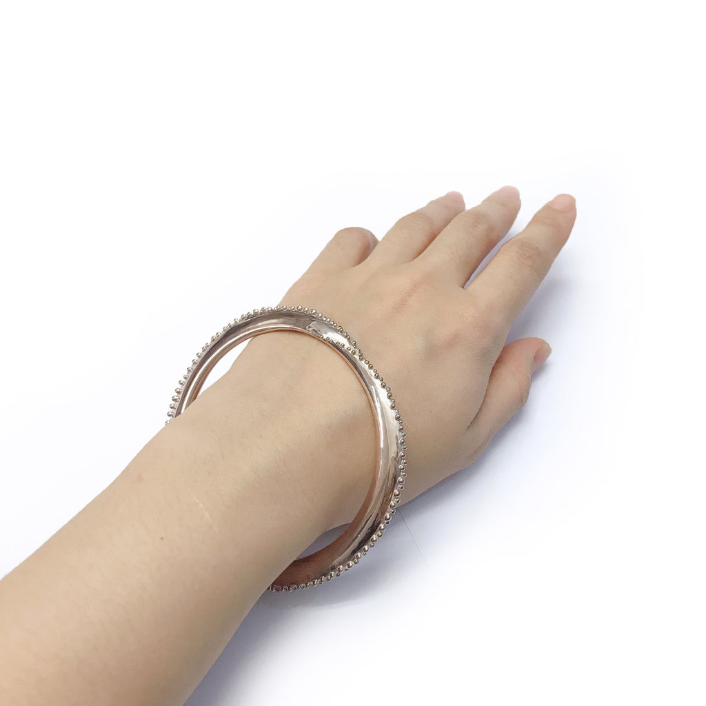 Pixelry - Tsubu Bangle (Pink)