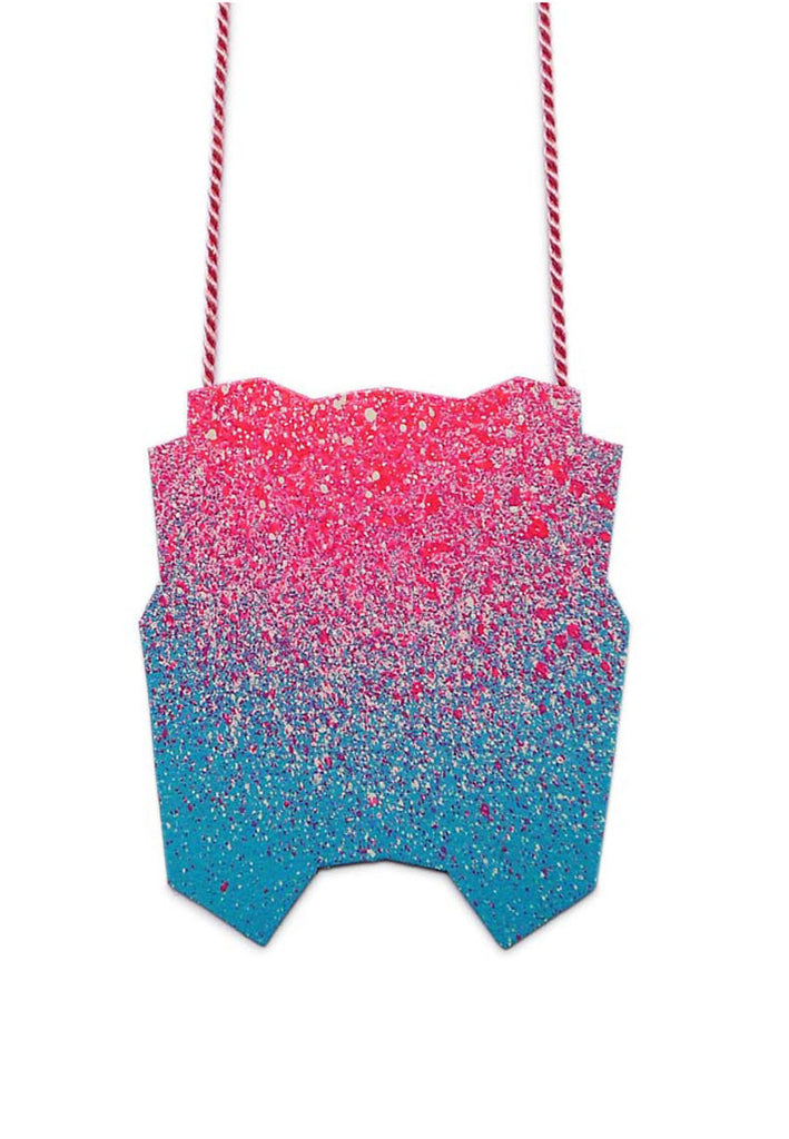 Linnéa Eriksson- Pink and Blue Spray Paint Pendant