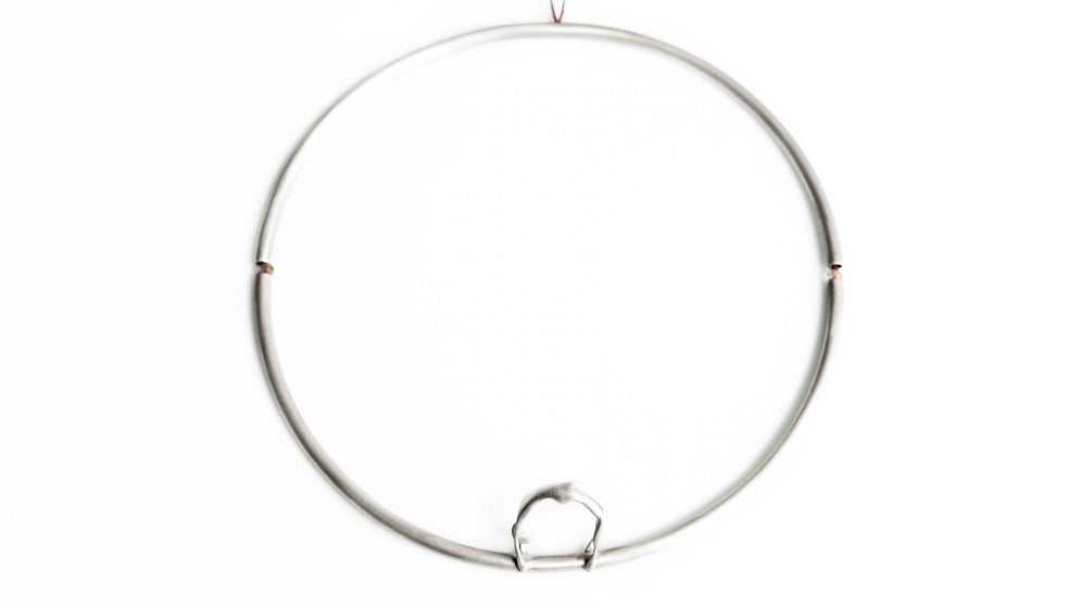 Nicole in Circle Necklace