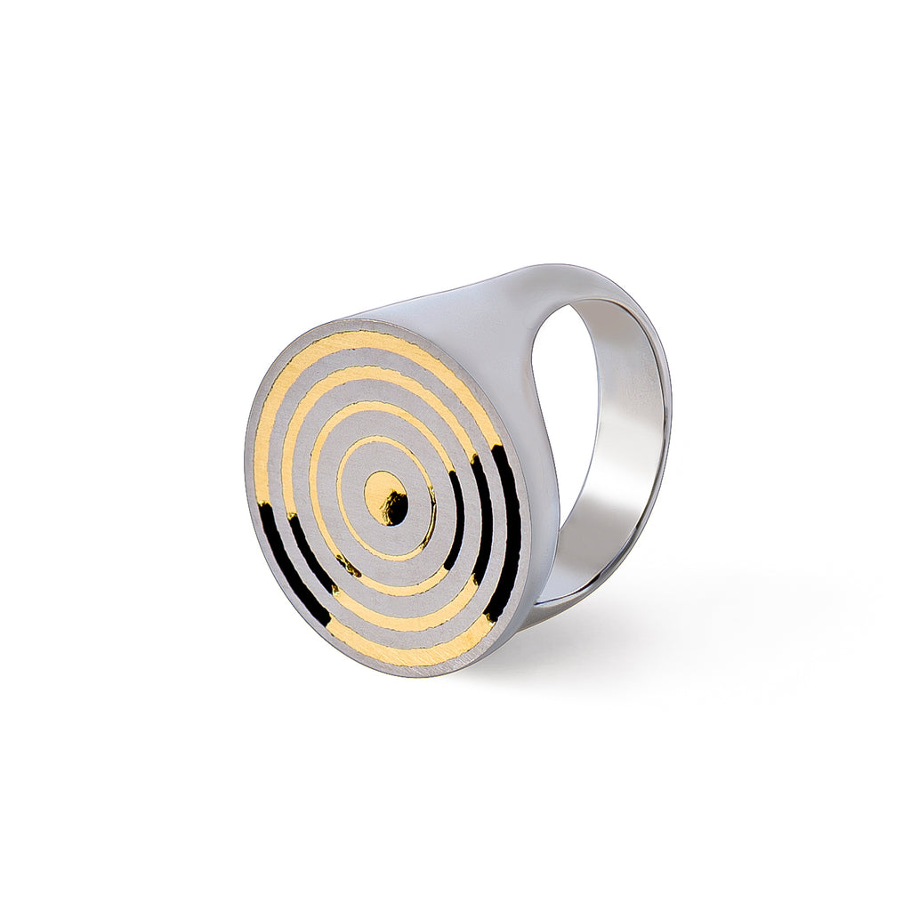 Titanium ring - Growth by Carl Noonan Ame Gallery