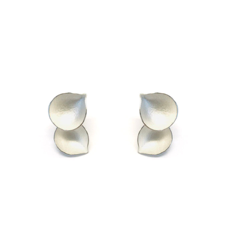 Kayo Saito - Faceted  two elements earrings